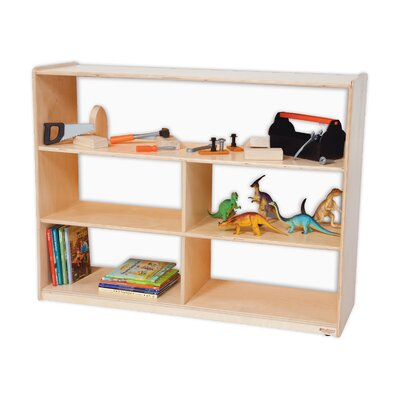 Wood Designs Natural Environment 36&quot; Versatile Shelf Storage Unit