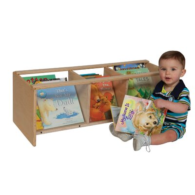 Wood Designs Natural Environment See-All Toddler Book Browser