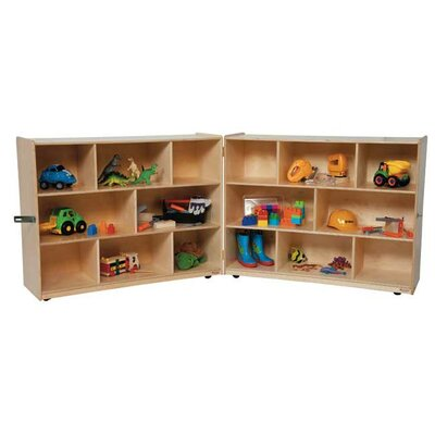 "Wood Designs 36"" X-Deep Folding Storage Unit"