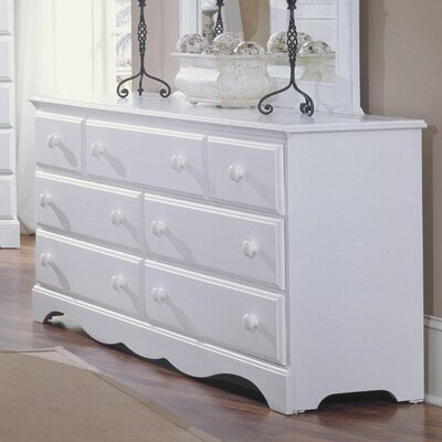 Carolina Furniture Works, Inc. Carolina Cottage 7 Drawer Dresser