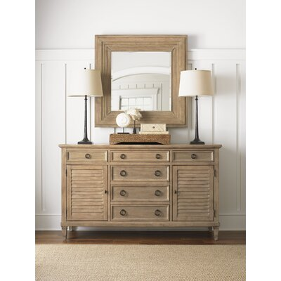Lexington Monterey Sands Spyglass Square Mirror