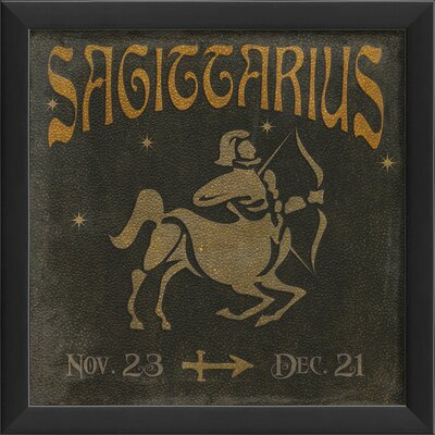 Blueprint Artwork Zodiac Sagittarius Wall Art