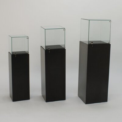 Tecno Display Square Gallery Pedestal Showcase