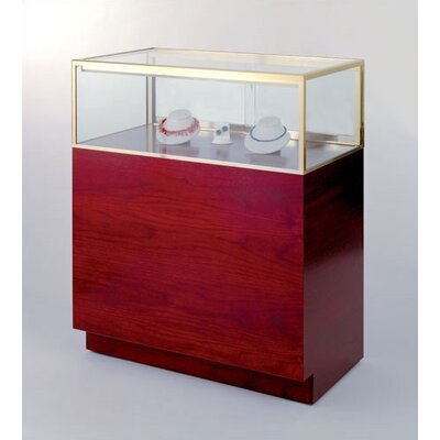 Tecno Display Quarter-Vision Jewelry Case with Premium Finishes