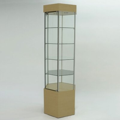Tecno Display Displays 4 Less Hexagonal Tower Case