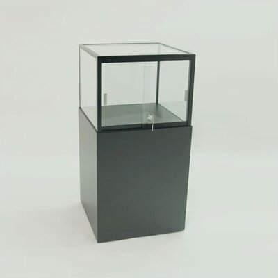 Tecno Display Displays 4 Less Pedestal Display with Glass Top