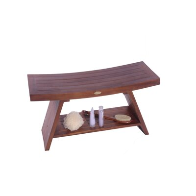Asia Teak Serenity Shower Bench