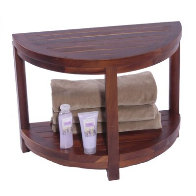 Decoteak Outdoor Classic Spa Teak Side Table