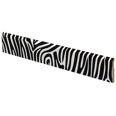 LilyTrim Zebra Pattern Wall Trim