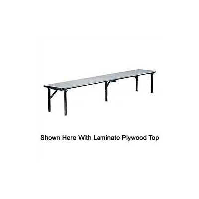 Midwest Folding Products Riser Shelf with Plywood Top