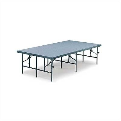 Midwest Folding Products 4' x 6' Portable Stage with Polypropylene Deck