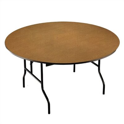 Midwest Folding Products Round Banquet Table with Padded Top