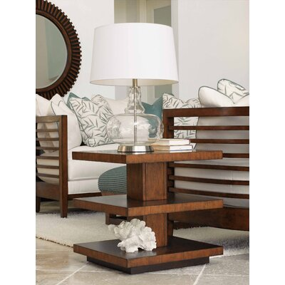 Tommy Bahama Home Ocean Club Lagoon End Table