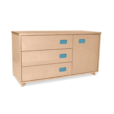 True Modern Low 3 Drawer Dresser