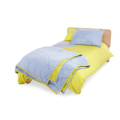 True Modern Scribble 2 Piece Twin Quilt Set
