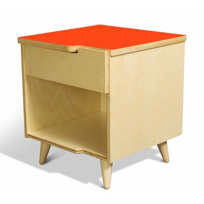 True Modern 11 Ply 1 Drawer Nightstand