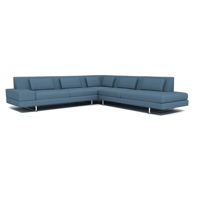 True Modern Hamlin Corner Sectional Sofa