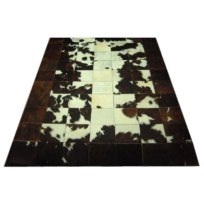 Spinneybeck Dark Brown Trim Haired Cowhide Rug