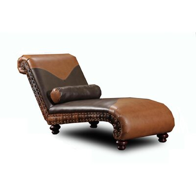 Chelsea Home Denver Leather Chaise