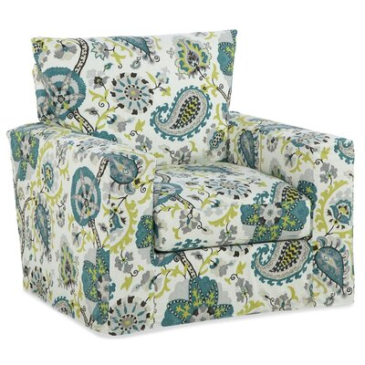 Peacock Accent Glider Chair