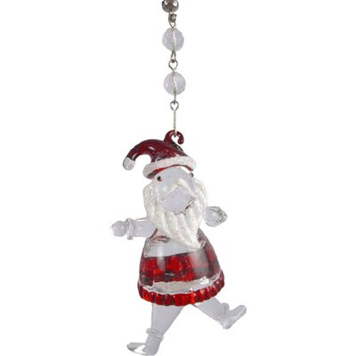 Light Charms Holiday Santa Decorative Accent (Set of 3)
