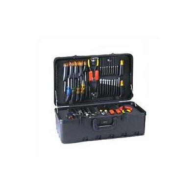 Stream-lined Tool Case with Built-in Cart: 11