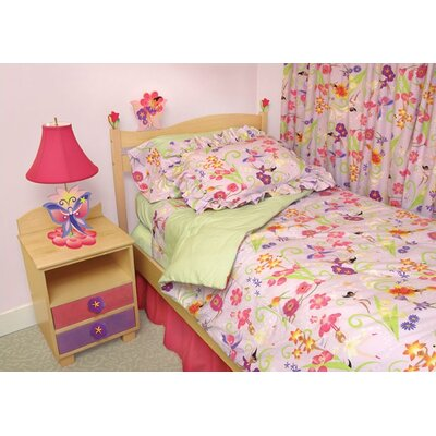 Room Magic Magic Garden 3 Piece Duvet Set
