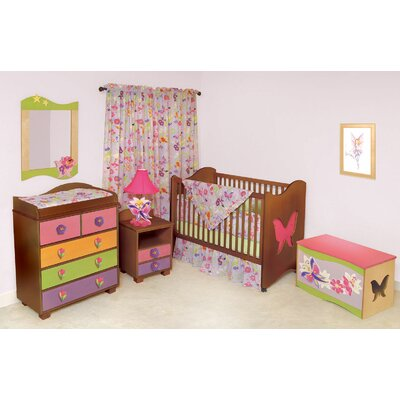 Room Magic Magic Garden 2-in-1 Convertible Crib Set