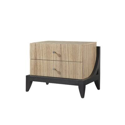 Allan Copley Designs Bonita 2 Drawer Nightstand