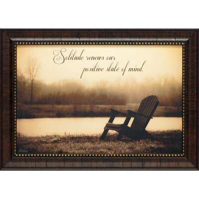 Solitude Framed Art