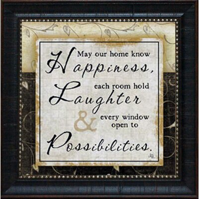 Happiness Framed Art