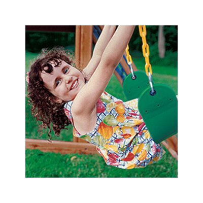 Eastern Jungle Gym Heavy Duty Sling Swing with Coated Chain