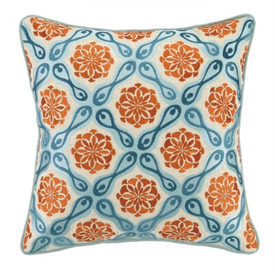Bahir I Linen Embroidered Pillow