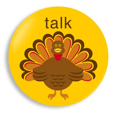 Jane Jenni Inc. Talk Turkey Plate