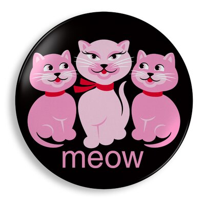 Jane Jenni Inc. Cats Meow Plate