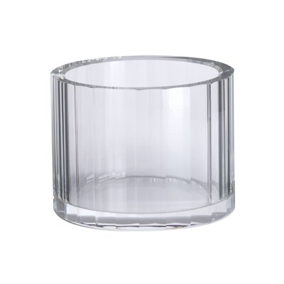 Lazy Susan Crystal Faceted Bowl