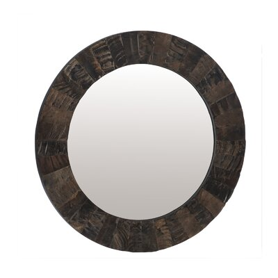 Lazy Susan Buffalo Horn Mirror