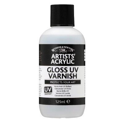 Winsor &amp; Newton Artists' Acrylic Gloss Uv Varnish Bottle