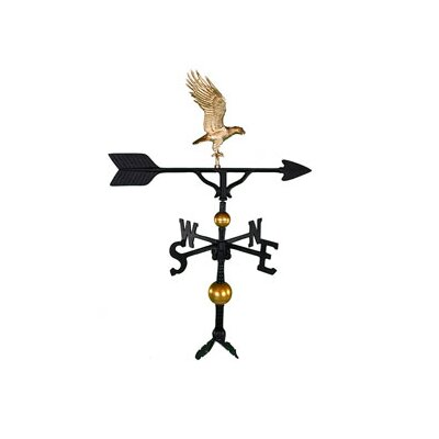 Montague Metal Products Inc. Deluxe Bodied Eagle Weathervane