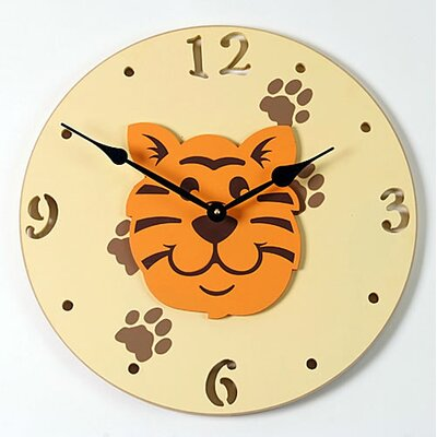 Forest Creations Tiger Kid Clock