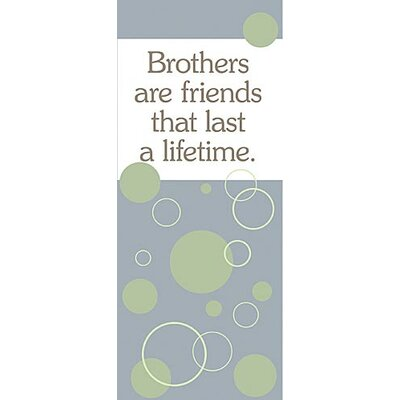Forest Creations Brothers Are Friends... Kids Canvas