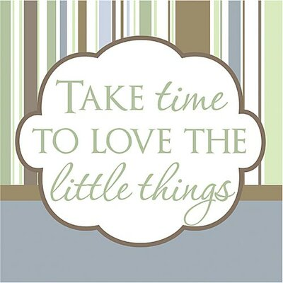 Take Time to Love the Little Things Kids Canvas