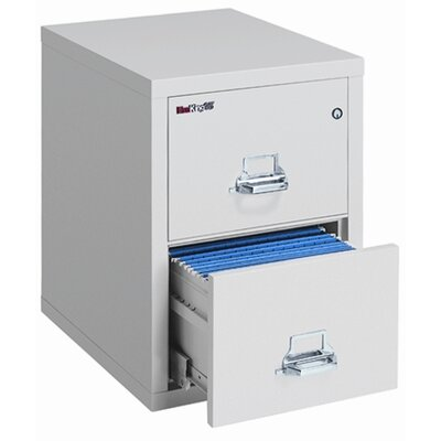 Fire King 25&quot; D Two-Drawer Vertical Legal File