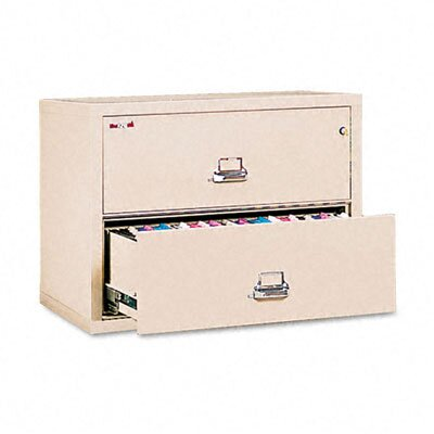 "Fire King 2 Drawer Lateral File, 37.5"" Wide, Ul Listed 350"