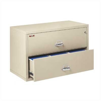 Fire King 44&quot; W Two-Drawer Lateral File