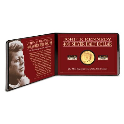 American Coin Treasures JFK Half Dollar Coin Sleeve