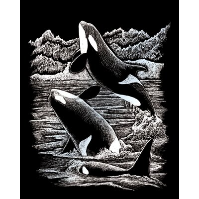 Royal & Langnickel Orca Whales Art Engraving