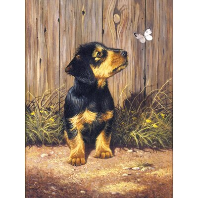 Royal & Langnickel Painting by Numbers Junior Small Dachshund Pup Set