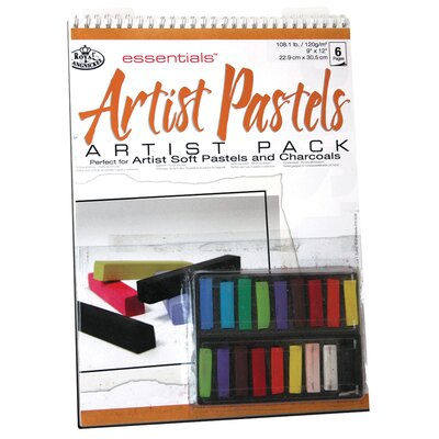 Royal & Langnickel Essentials Artist Pack Paper and Media Clear Soft Pastels