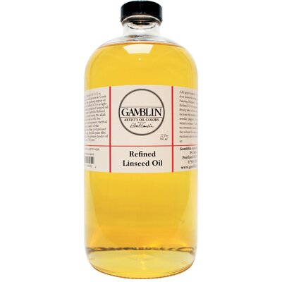 Gamblin Refined Linseed Oil